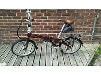 Bickerton junction 1707 country folding bike 2015