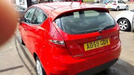 Ford Fiesta 2009,59 red manual 3dr