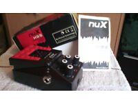 brand new n u x hg5 model high gain overdrive guitar pedal. boxed
