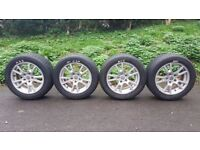 """BBS 17"""" Alloys Genuine BMW X3 will fit others such as T5/T6 Audi & other VW"""