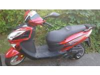 65 plate lexmoto fms125 1 previous owner
