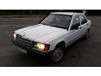 LHD MERCEDES 190 D , we have more left hand drive ---15 cheap cars on stock---