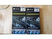 2x 4GB Corsair Vengeance DDR3 RAM