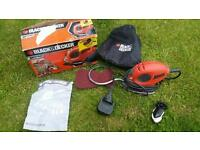 Black and Decker Mouse Electric Power Hand Sander