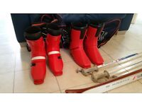 SKIS+BINDINGS+POLES +BOOTS +ACCESSORIES GREAT BUY