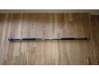 Pull ups bar MAXSTRENGHT - Chrome steel - 100 cm to 150 cm