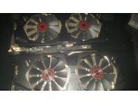 2x ASUS Strix GTX 970's for sale