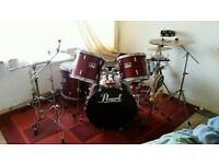 5pc Drum Kit w/ many Accessories £££s spent