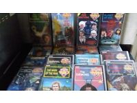 DR WHO VIDEO TAPES