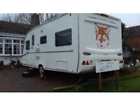 2007 ABBEY GTS 419 2 FIXED SINGLE BEDS 1 DOUBLE