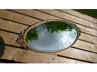 A lovely vintage retro French style mirror