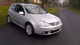 2006 VOLKSWAGEN GOLF 2.0 TDI SPORT 3 DOOR, FULL HISTORY, BELTS CHANGED