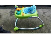 Baby Walker with steering wheel and musical horn