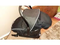 Silvercross car seat and isofix base.