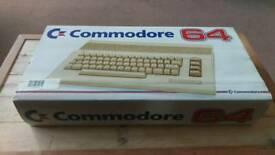 Commodore 64 w/ cassette deck