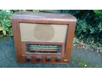 Vintage Marconiphone T32A radio - c1955 FREE TO A GOOD HOME