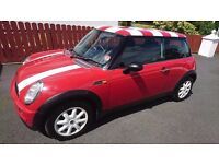 2001 MINI ONE 1.6 PETROL owned for last 5 years.