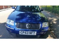 Vw passat Gttdi long mot service history cheap on fuel tax big for work cd alloy tidy £850