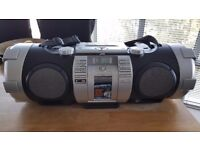 JVC Boombox - portable sound system, ideal for dance / fitness instructor. Ipod, CD, USB