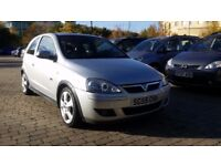 2005 Vauxhall Corsa 1.4 i 16v SRi 3dr (a/c) with NEW TIMING CHAIN fitted, FULL YEAR MOT, 3M WARRANTY