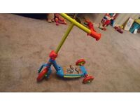 Toy story scooter 3 wheeled