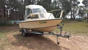 Savage Pacific 16.4ft Half Cabin with Trailer Berkshire Park Penrith Area Preview