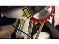 new GMC slide compound mitresaw LSMS210 ono