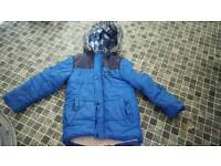 Boy coats 3-4 year