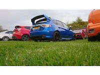 subaru wrx hatchback, fsh, 2 owners, rebuilt engine with forged pistons and uprated gaskets