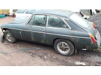 1973 MGB GT - Parts for Breaking