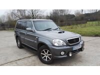 Hyundai Terracan 2.9 CRTD Auto 4X4 Only 82k Full S.History Top Of The Range Excellent Condition