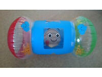 Baby tummy time inflatable roller toy