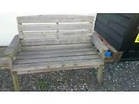 Heavy Garden bench