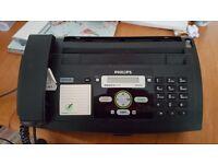 phillips fax machine