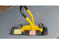 block paving brick splitter for block pavers, heavy duty