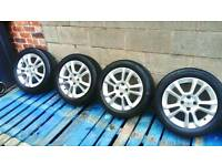 "Vauxhall Corsa D SXi 16""original alloys with good tyres"