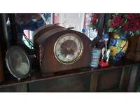 1940s 50s Westminster chime clock in working order