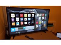 LUXOR 50-inch Smart 4K ULTRA HD LED TV-built in Wifi,Freeview PLAY,Netflix, FULLY WORKING