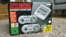 SNES Mini Classic - brand new in box