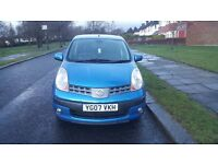 NISSAN NOTE SVE DCI 2007 5dr - CHEAP TAX AND INSURANCE