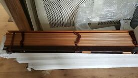 window blinds wooden new
