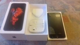 Iphone 6s 64gb unlocked fully boxed cracked screen