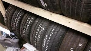 Set of four 245 70 17 tires for sale