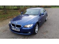 BMW 320 Coupe 2009 59 Plate