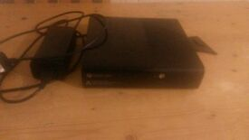 xbox 360 console and cable 250gig