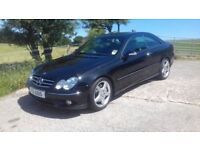 2007 Mercedes CLK CDi Sport AMG Auto Turbo Diesel Coupe, 106,000 Miles, History, Warranty