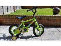 """Apollo Marvin the Monkey 12"""" bike"""