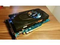 Ati Radeon HD 5770 1GB HIS graphics card GPU