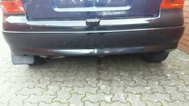***Vauxhall Astra g mk4 Sxi Black Rear Bumper Forsale***