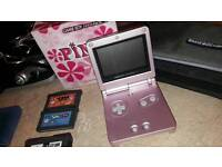 Gameboy advance *Boxed* Limited pink edition